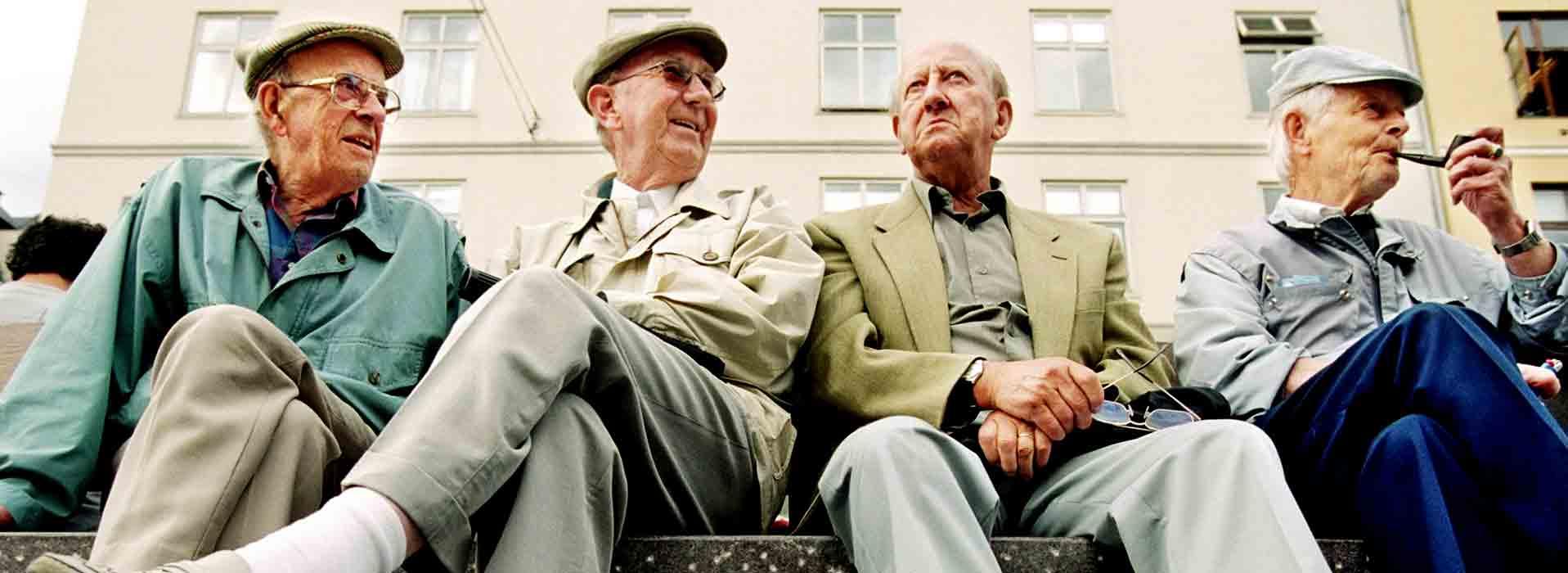 Bejaarden longontsteking
