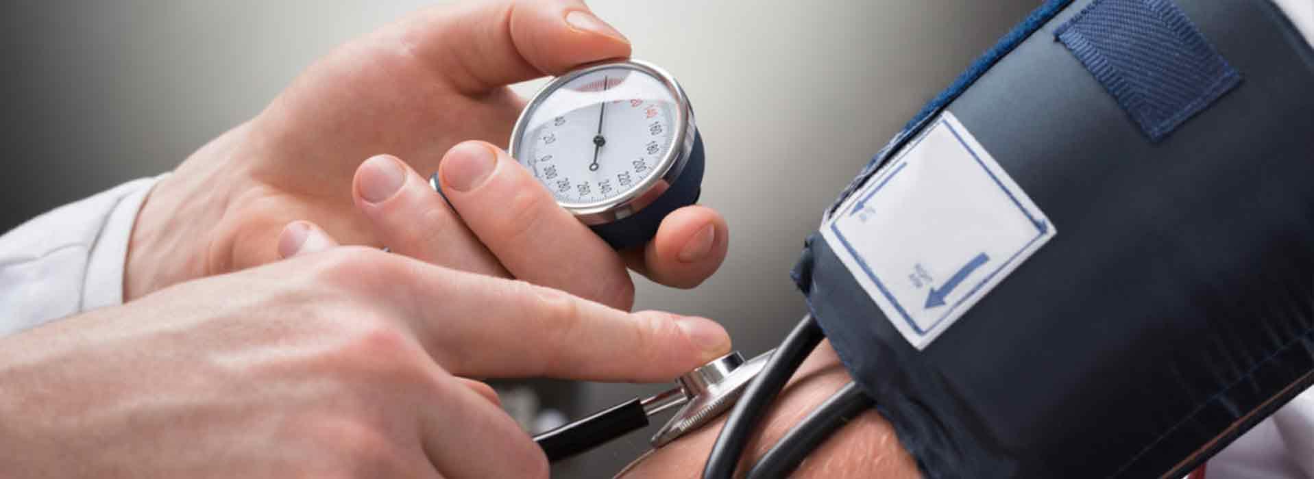 Longembolie hoge bloeddruk